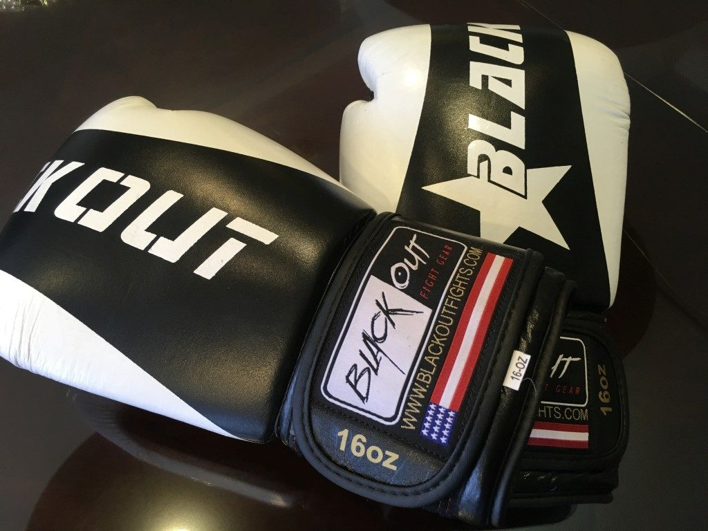 Advanced Gym Glove Black and White